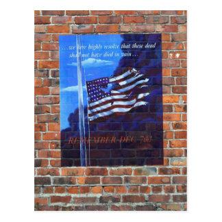 Poster da propaganda do tempo de guerra WW2 Cartão Postal