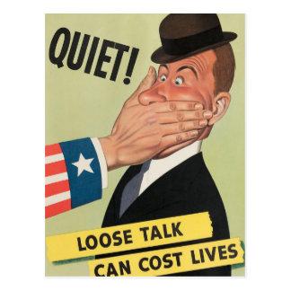 Poster da propaganda WW2 Cartão Postal