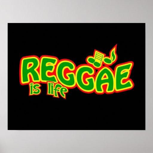 Poster da reggae