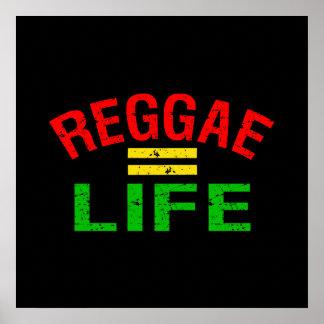 Poster da reggae pôster