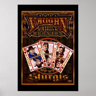 Poster da reunião de Vaughn da família