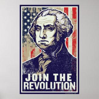 Poster da revolução de Washington Pôster