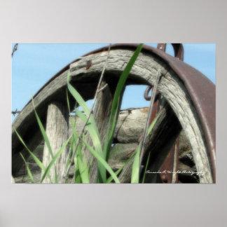 Poster da roda de vagão