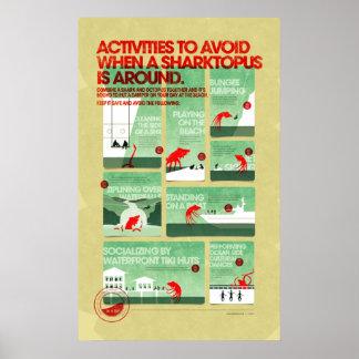 Poster da segurança de Sharktopus