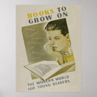 Poster da semana de livro de 1936 crianças