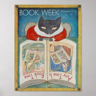 Poster da semana de livro de 1997 crianças
