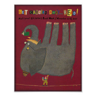 Poster da semana de livro de 2001 crianças