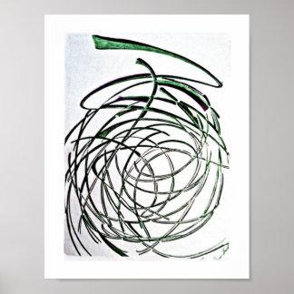 poster da Unravel-arte Pôster