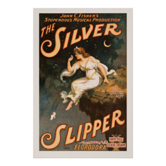 Poster das artes de palco do vintage pôster