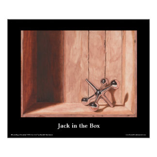 "Poster das belas artes de Jack in the Box, 24"" x"