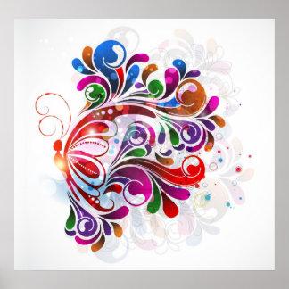 Poster das borboletas do amor