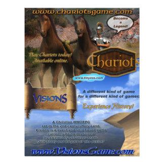 Poster das Chariots-Visões Panfletos Personalizado