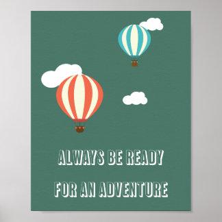Poster das citações da aventura pôster