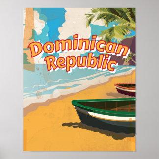 Poster das férias do vintage da República