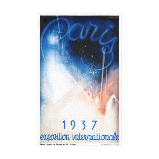 Poster das viagens vintage de France Paris