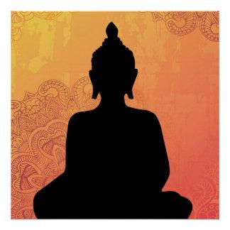Poster de Budha Poster Perfeito