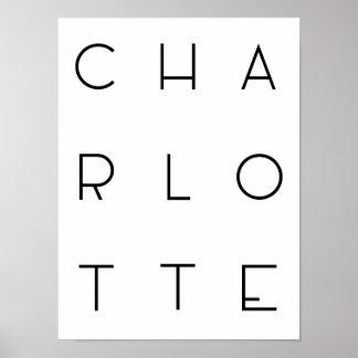Poster de Charlotte Pôster