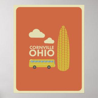 Poster de Cornville Ohio
