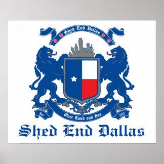 Poster de Dallas da extremidade da vertente