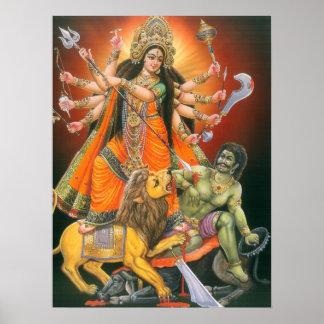 Poster de Durga Mahisasuramardini
