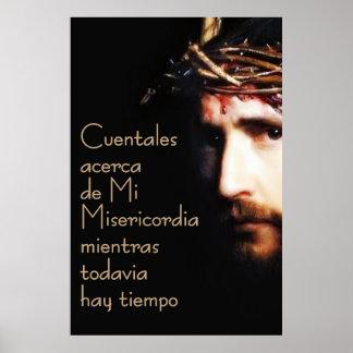 Poster de Espanol do espanhol de Jesus Divina