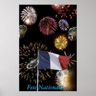 Poster de Fête Nationale Pôster