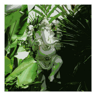 Poster de Ganesha Poster Perfeito