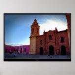 Poster de Huajuapan Oaxaca Chatedral