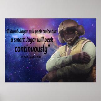 Poster de Jager do cerco do arco-íris seis