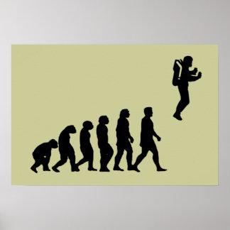 Poster de Jetpack da evolução