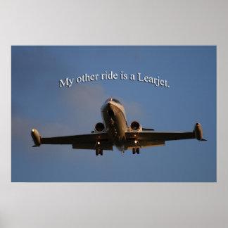 Poster de Learjet Pôster