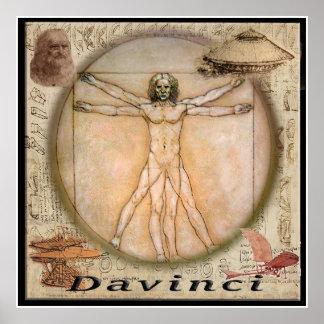 Poster de Leonardo da Vinci