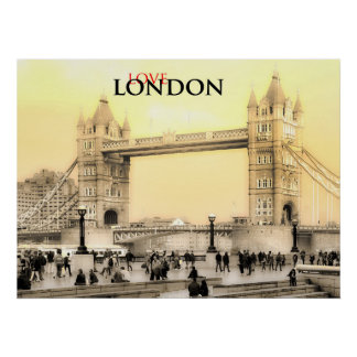 Poster de Londres do amor