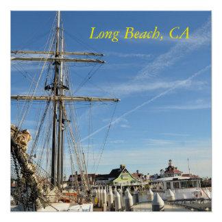 Poster de Long Beach Califórnia Poster Perfeito