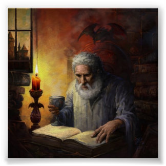 Poster de Malcolm do feiticeiro Pôster