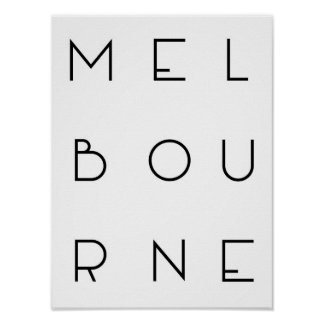 Poster de Melbourne