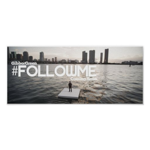 Poster de Miami do #FollowMe