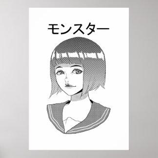 Poster de MONSUTA (matte) Pôster