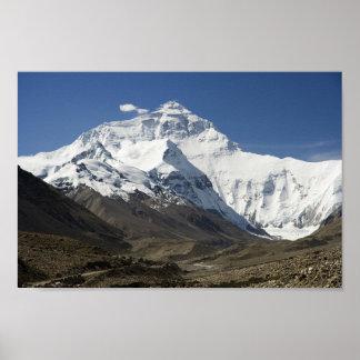 Poster de Nepal dos Himalayas do acampamento base