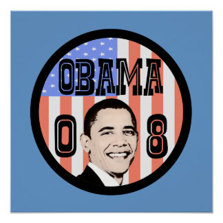 Poster de Obama 08 (estilo antigo)