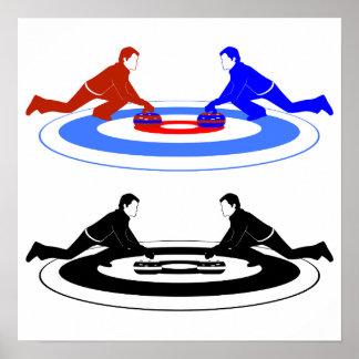 Poster de ondulação dos jogadores pôster