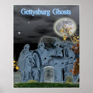 Poster de Paranornal dos fantasmas de Gettysburg