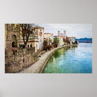 Poster de Passau, Alemanha