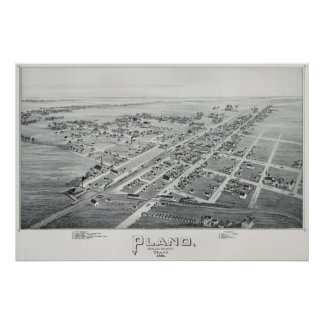 Poster de Plano 1891Overview Pôster