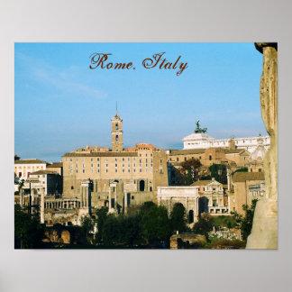 "Poster De ""poster Roma, Italia III"""