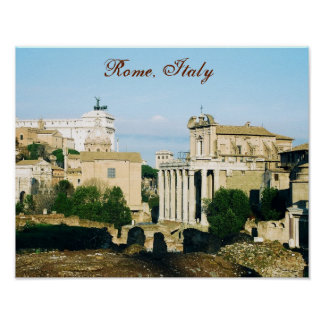 "Pôster De ""poster Roma, Italia IV"""