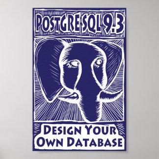 Poster de PostgreSQL 9,3 Pôster