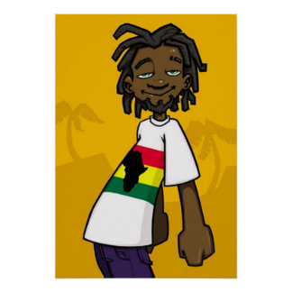 Poster de Rastafarian