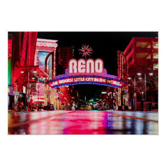 Poster de Reno, Nevada