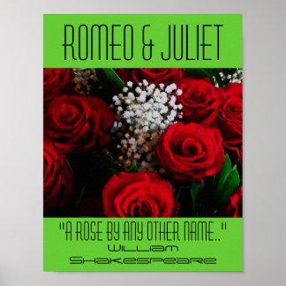 Poster de Romeo & de Juliet um festival de Shakesp